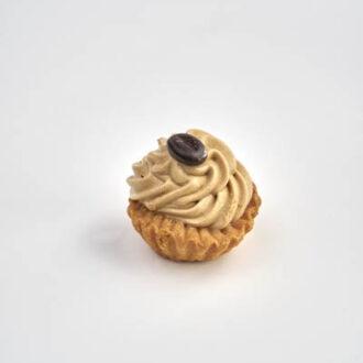 Tartelletta con mousse al caffè