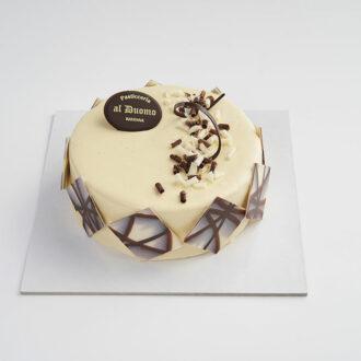 torta al cioccolato bianco